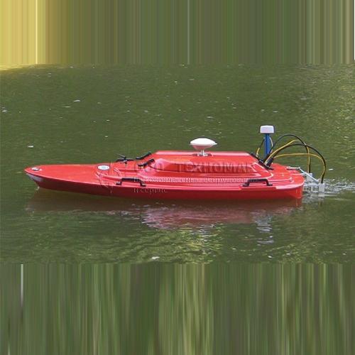 Дистанционно-управляемые лодки для измерения расхода воды