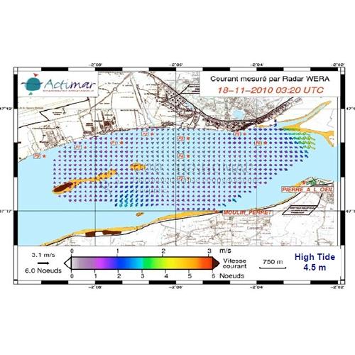 Доплеровский радиолкатор Helzel WERA для измерения параметров течений и волн на расстоянии до 200 км от береговой линии