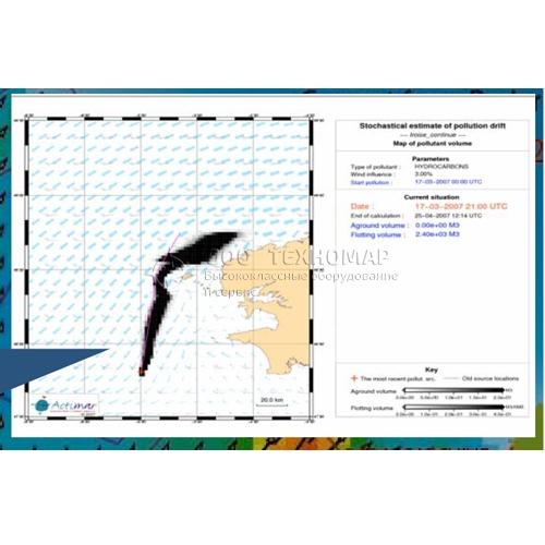 Доплеровский радиолкатор Helzel WERA для поиска объектов в море и проноза распространения нефтяных загрязнений